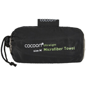 Cocoon Microfiber Towel - Toallas - Ultralight Medium rojo